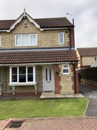 Thumbnail 3 bed semi-detached house to rent in Old Rugby Park, Goole