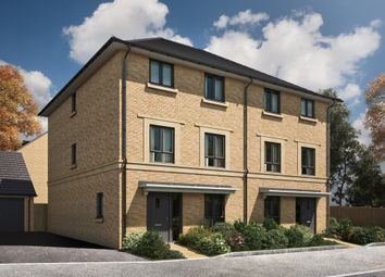 "Thumbnail 4 bed semi-detached house for sale in ""The Hawkwell"" at Radwinter Road, Saffron Walden, Essex, Saffron Walden"