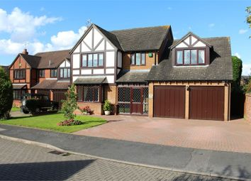 Thumbnail 4 bed detached house for sale in Thornton Close, Broughton Astley, Leicester