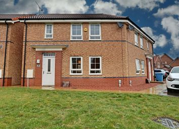 Thumbnail 2 bed semi-detached house for sale in Primrose Way, Kingswood, Hull, East Yorkshire