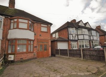 Thumbnail 4 bed semi-detached house for sale in Scraptoft Lane, Humberstone, Leicester
