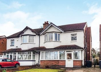 Thumbnail 3 bedroom semi-detached house for sale in Highfield Road, Hall Green, Birmingham