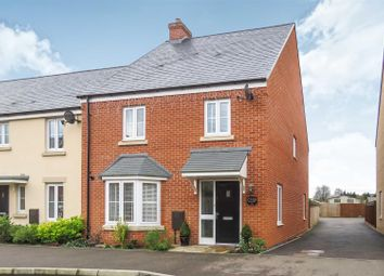 Thumbnail 4 bed semi-detached house for sale in Rutherford Way, Biggleswade