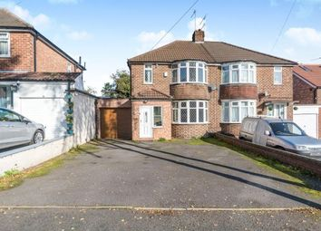 Thumbnail 3 bed semi-detached house for sale in Cottesbrook Road, Acocks Green, Birmingham, West Midlands