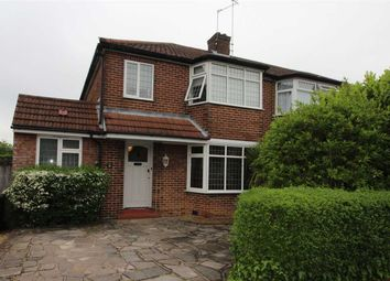 Thumbnail 4 bed semi-detached house for sale in Kenilworth Drive, Borehamwood