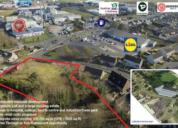Thumbnail Land for sale in Site At Belmont Road, Stranraer DG97At