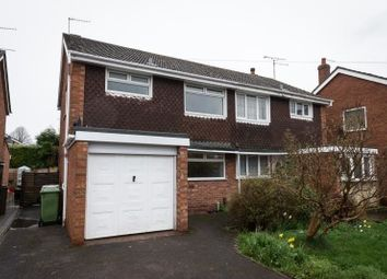 Thumbnail 3 bed semi-detached house to rent in Tilling Drive, Stone