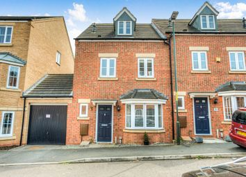 Thumbnail 4 bed end terrace house for sale in Dixon Close, Enfield, Redditch