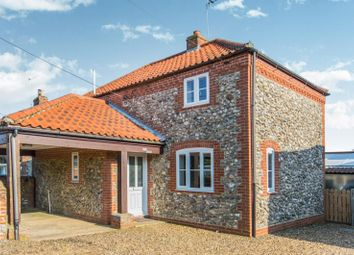 Thumbnail 2 bed cottage to rent in Old Turnpike Road, Roughton, Norwich