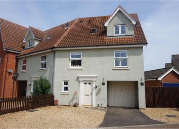 Thumbnail 3 bed end terrace house for sale in Tyrrell Crescent, King's Lynn
