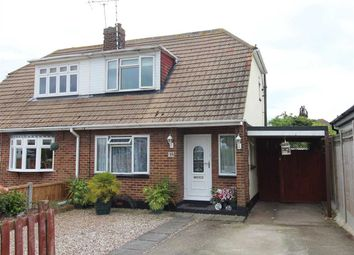 Thumbnail 2 bed semi-detached house for sale in South Parade, Canvey Island