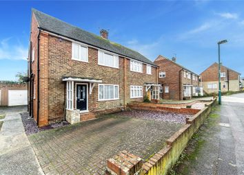 Thumbnail 3 bed semi-detached house for sale in Swale Road, Strood, Kent