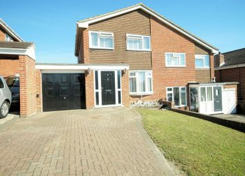 Thumbnail 3 bed semi-detached house for sale in Waltham Close, Fareham