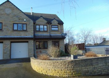 Thumbnail 4 bedroom semi-detached house for sale in Church Lane, Moldgreen, Huddersfield, West Yorkshire