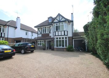 Thumbnail 5 bed detached house to rent in Ockham Road North, West Horsley, Leatherhead