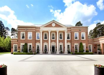 Thumbnail 4 bedroom detached house for sale in West Drive, Wentworth, Virginia Water, Surrey