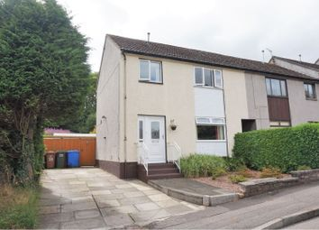 Thumbnail 3 bed end terrace house for sale in Carradale Avenue, Tamfourhill