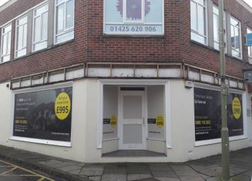 Thumbnail Retail premises to let in 15 Old Milton Road, New Milton, Hampshire