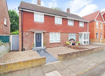 Thumbnail 2 bed semi-detached house for sale in Princes Way, Canterbury