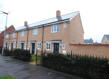 Thumbnail 2 bed end terrace house to rent in Hooper Avenue, Colchester