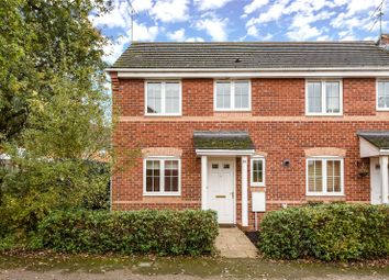 Thumbnail 3 bed end terrace house to rent in Rayner Drive, Arborfield, Reading, Berkshire