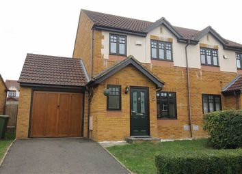 Thumbnail 3 bed semi-detached house to rent in Lowndes Grove, Shenley Church End, Milton Keynes