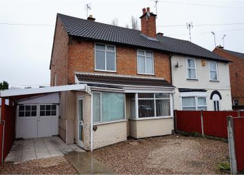 Thumbnail 3 bedroom semi-detached house for sale in Uppingham Road, Leicester
