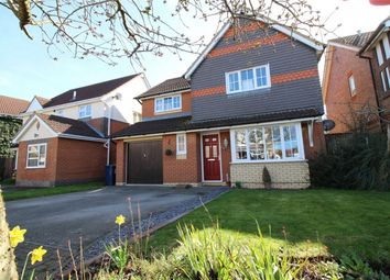 Thumbnail 4 bedroom detached house for sale in Brigland Close, Huntingdon