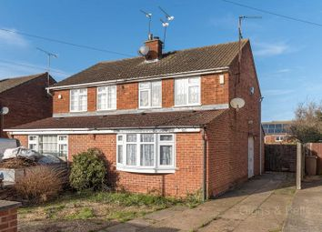 Thumbnail 2 bedroom semi-detached house for sale in Kinross Crescent, Luton