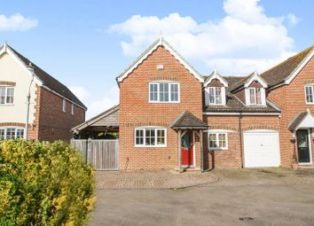 Thumbnail 4 bed semi-detached house for sale in Oak Tree Lane, Woodgate, Chichester