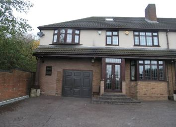 Thumbnail 4 bed semi-detached house for sale in Portway Road, Rowley Regis