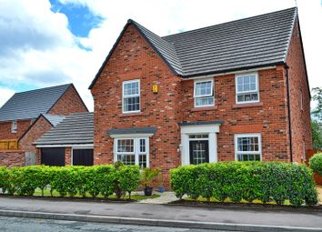 Thumbnail 4 bed detached house for sale in Teddy Gray Avenue, Sandbach