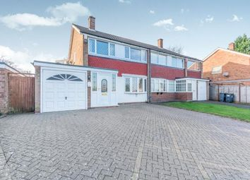 Thumbnail 3 bed semi-detached house for sale in Highmore Drive, Bartley Green, Birmingham, West Midlands