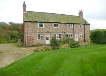 Thumbnail 3 bed semi-detached house to rent in Brandsby, York