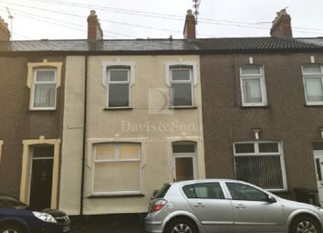 Thumbnail 3 bed terraced house to rent in Oakley Street, Newport, Gwent.