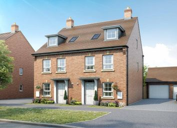 """Thumbnail 4 bed semi-detached house for sale in """"Rochester"""" at Aylesbury Road, Bierton, Aylesbury"""