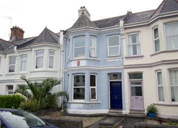 Thumbnail 3 bed terraced house for sale in Amherst Road, Pennycomequick, Plymouth