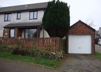 Thumbnail 2 bed semi-detached house to rent in Park Gwyn, St. Stephen, St. Austell