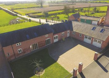 Thumbnail 5 bedroom barn conversion for sale in Frolesworth Road, Broughton Astley, Leicestershire