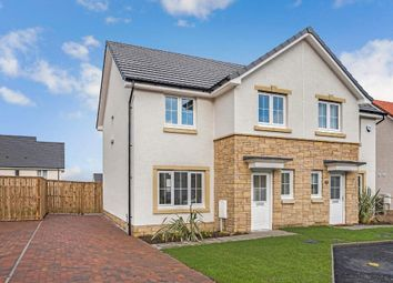 Thumbnail 3 bed semi-detached house for sale in Alnwick Drive, Cumbernauld, Glasgow