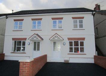 Thumbnail 3 bedroom semi-detached house for sale in Wind Road, Glanrhyd, Ystradgynlais, Swansea.