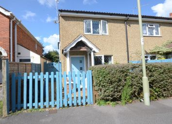 Thumbnail 3 bedroom semi-detached house to rent in Clarence Road, Fleet