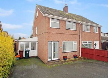 Thumbnail 4 bed semi-detached house for sale in School Road, Ruyton Xi Towns, Shrewsbury