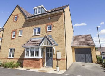 Thumbnail 4 bed semi-detached house for sale in Linnet Way, Keynsham, Bristol