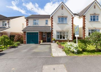 Thumbnail 4 bed detached house for sale in Millstream Meadow, Chudleigh, Newton Abbot