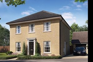 Thumbnail 4 bedroom detached house for sale in The Craske, Cromer Road, Holt, Norfolk