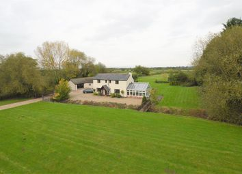 Thumbnail 4 bed detached house for sale in Rossett Road, Commonwood, Holt, Wrexham