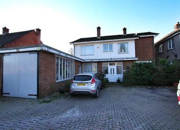 Thumbnail 4 bed detached house for sale in Western Avenue, Newport
