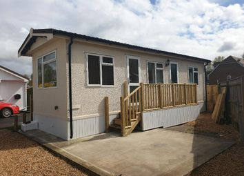 Thumbnail 1 bed mobile/park home to rent in Moorgreen Road, West End, Southampton