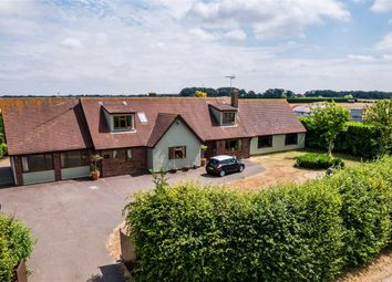 Thumbnail 5 bed detached house for sale in Hillcroft, Daveys Lane, Bardwell